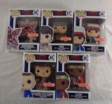 Funko Pop! Stranger Things 8-bit Set Target Exclusive Lot of 5 IN HAND