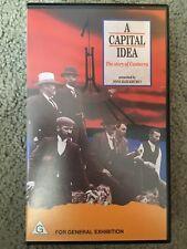 A Capital Idea - The Story Of Canberra VHS TAPE (Australian documentary)