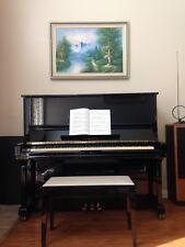 "Yamaha U3 A 52"" Upright Piano (1984, Japan)"