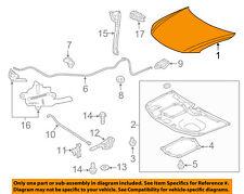 Scion TOYOTA OEM 14-16 tC-Hood Panel 5330121110