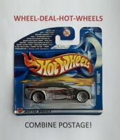 Hot Wheels - 2002 - Pontiac Rageous - Silver - No.119 - Rare! - MOC!