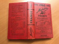 Guide Michelin France 1965 avec prix en livres sterling