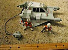 2009 Hasbro Galactic Heroes Star Wars ROTJ Snow Speeder With Figures