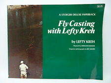 Fly Casting With Lefty Kreh 1974 Paperback