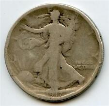 1917 S rev. Walking Liberty Half Dollar - (#JM)