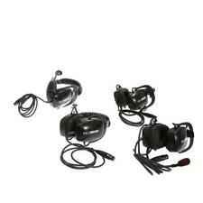 Portacom 2 Channel 4 Single Muff Headset Wired Intercom System - SKU#1241627