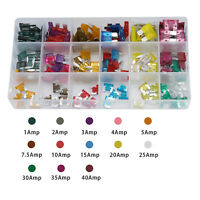 165pcs Set Micro ATC/MINI/Low Profile/Mini Blade Fuse Assortment Auto Car FUSES