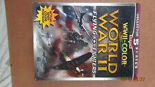WORLD WAR WW II FLYING FIGHTER COLOR FOOTAGE 5 volumes VHS unopened