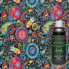 Hydrographic Film Water Transfer Hydro Dip 6oz Activator With Flower Pattern Kit