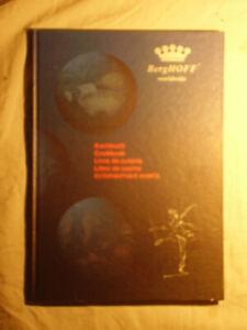 """BergHoff worldwide"", livre de cuisine en 5 langues, cartonnage."