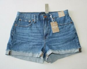 J.CREW Size 29 High Rise Medium Wash Denim Shorts K6462  - New With Tags
