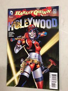 HARLEY QUINN #20 HARLEYWOOD DC COMICS (2015) JOKER SUICIDE SQUAD