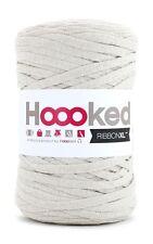 Hoooked ribbonxl 120M punto tejer hilado de de Algodón Ganchillo Sandy crudo