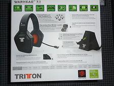 TRITTON Warhead Casque Gaming 7.1 Sans fil Officiel Xbox 360 Neuf
