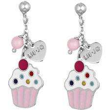 Liu Jo Jewellery Junior Collection Baby Bambina Argento Orecchini Cupcake BLJ363