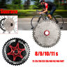 SUNRACE 8/9/10/11 Speed MTB Bike Cassette Cycling Freewheel fits Shimano SRAM