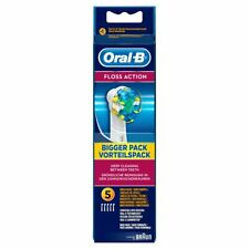 Oral-B Floss Action Toothbrush Heads 5 Pack GENUINE