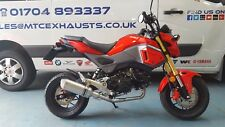 Honda MSX125SF GROM 2016-17 -18 full stainless exhaust Road-legal / Race System