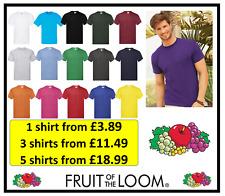 Single 3 Pack 5 pack Mens 100% Cotton Plain T-Shirts Tee shirts T Shirt Lot Crew