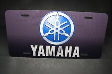 YAMAHA MOTORCYCLES METAL ALUMINUM LICENSE PLATE FOR CARS AND TRUCKS