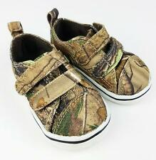 Boy's Toddler Realtree Camo Camouflage Shoes 2 Mossy Oak Sneakers Canvas