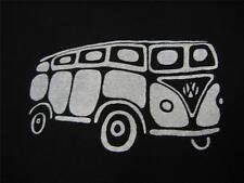 VW Volkswagen Bus/Van Men's Large Long-sleeve T-Shirt,Kerri's Creations, Black
