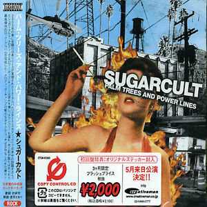 Palm Trees and Power Lines [Bonus Track] by Sugarcult (CD, Feb-2004, Cutting...
