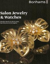 Bonhams Salon Jewelry & Watches Auction Catalog March 2013