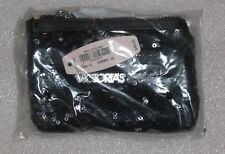 NWT Victoria's Secret Black Sequin Wallet Change Purse NIP HTF
