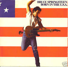 BRUCE SPRINGSTEEN Born In The USA / Shut Out The Light (nonLP) 45 with PicSleeve