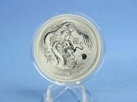 Australien 1 Dollars 2012 Lunar II Year of the Dragon  1 oz 999 Silber*st*