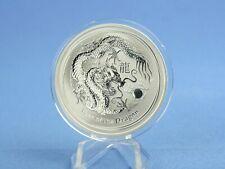 Australien 1 Dollars 2012 Lunar II Year of the Dragon  1 oz 999 Silber*st*