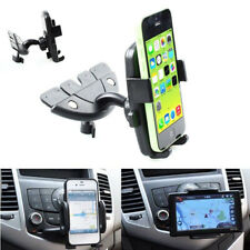 360° Car Holder CD Slot Mount Bracket For Mobile Cell Phone iPhone Samsung GPS R