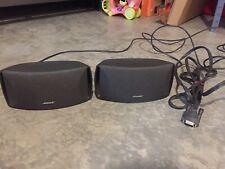 Pair Of Bose Acoustimass AV3-2-1 Satellite Home Theater Speakers - Tested