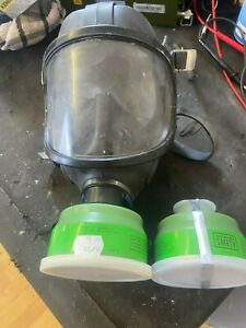 Sabre Respirator Face Mask gas mask with 2 filters (R4)