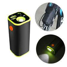 Battery Pack Storage Case Box Holder USB mobile power For Bike Bicycle Light Bag