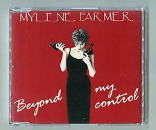 Mylene Farmer cd-maxi BEYOND MY CONTROL © 1992 - 865 821-2 - France 4-Track-CD