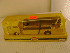 MODEL POWER PLAYART 1:48 SCALE YELLOW W/W CAB MACK FIRE ENGINE SNORKEL TRUCK NEW