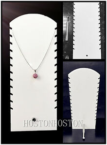 UK NEW Pendant Necklace Display Stand Jewellery Show Organizer Holder