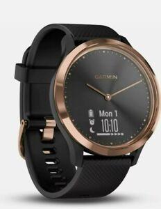 Garmin Vivomove HR Hybrid Smart Watch Activity Tracker Black/Rose Gold