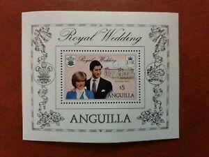 ANGUILLA - 1981 -ROYAL WEDDING - Miniature Sheet - MNH