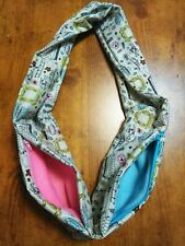 "Double Bonding Infinity Scarf, ""Friends"", Sugar Gliders, small Species, 43"" rnd"