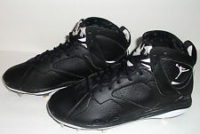 New Nike Air Jordan Retro VII 7 Baseball Cleats,Men's Size 10, Black, 684943-010