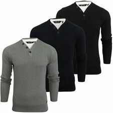 Men's Y Neck Cotton No Pattern Jumpers & Cardigans