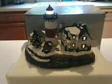 Harbour Lights Christmas 2003 Stratford Point Hl717 in Box Coa Lighted Signed