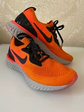 Nike Epic react Flyknit Women Orange/Grey AQ0070-800