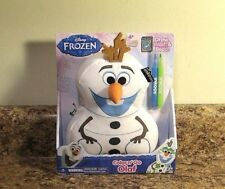 Disney Frozen Olaf Color And Go Plush Draw Wash NEW