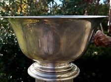 """ESTATE STIEFF STERLING SILVER FOOTED BOWL-026-9 1/8"""" NO MONOGRAMS-1952 S 925"""