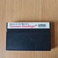 WHERE IN THE WORLD IS CARMEN SANDIEGO? SEGA MASTER SYSTEM PAL GAME CART ONLY