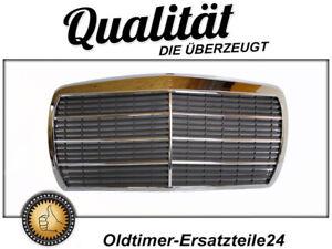 Chrom Kühlergrill Bugverzierung Kühlermaske für Mercedes W123